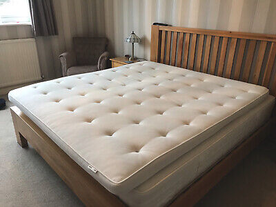 TUSTNA IKEA Mattress Topper Super King Size 200 X 180 X 7cm • 120£
