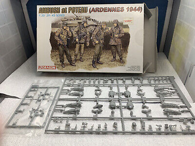 1/35 Dragon Ambush At Poteau, Ardennes 1944 • 7£