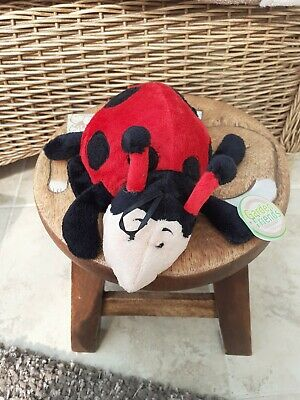 Teddykompaniet Garden Friends Soft Toy Ladybird  • 9.99£