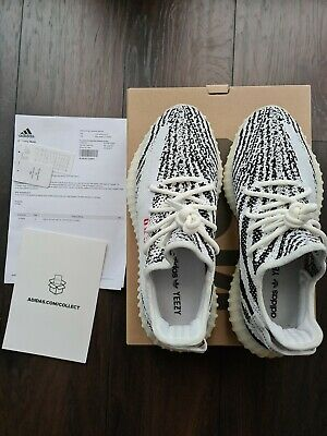 $ CDN441.03 • Buy Adidas Yeezy Boost 350 V2 Zebra Mint Condition UK Size 9 With Proof Of Purchase