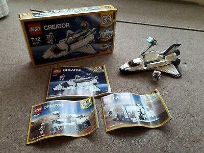 Lego Creator 3 In 1 31066 Space Shuttle Explorer Complete Set Box & Instructions • 15£