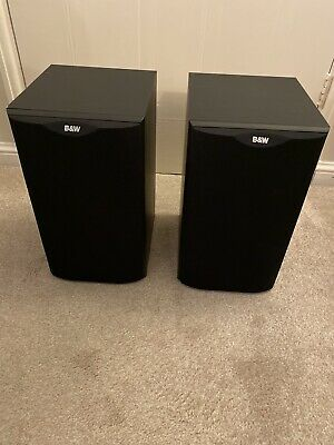 $ CDN230.28 • Buy B&W Speakers DM601 Bowers And Wilkens S1 / Stereo Pair Black Bookshelf Vintage
