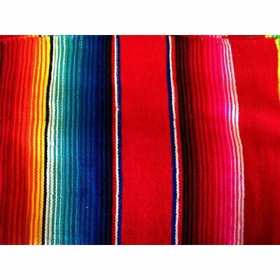 £36.51 • Buy Red Mexican Sarape Blanket