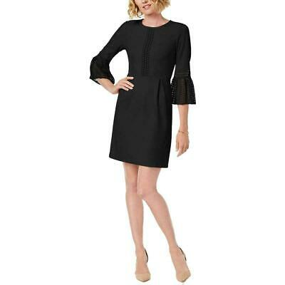 $ CDN20.43 • Buy Ivanka Trump Womens Black Lace Trim Mini Cocktail Party Dress Black 8
