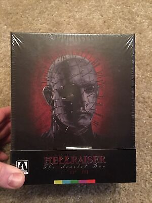Hellraiser Scarlet Box Set SEALED Blu-ray Disc, 2016 4-Disc Limited Edition OOP • 215.05£