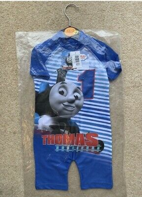 £10.99 • Buy Thomas All In One Swimsuit Swimming Boys
