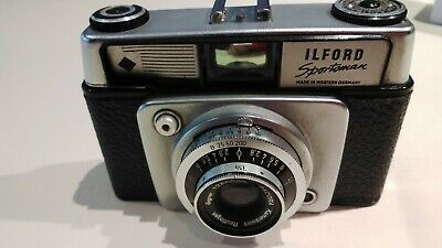 Ilford Sportsman Dacora Vario 1:2,8/45mm Camera With Carry Case • 9£