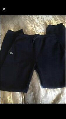 Age 16 Fab Condition Navy La Coste Tracksuit Bottoms Top Available! Trainers • 15£