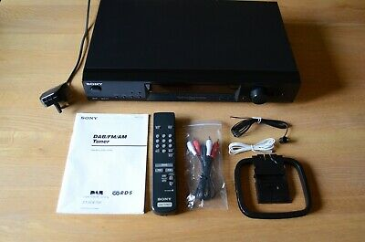 SONY ST-SDE700 DAB / FM / AM Hi-Fi TUNER - IMMACULATE CONDITION - ORIGINAL OWNER • 44£