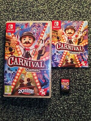 Carnival Games For Nintendo Switch • 13.40£