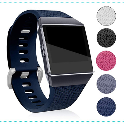 AU19.50 • Buy Fitbit Ionic Replacement Band Watch Bracelet Silicone Adjustable S Blue