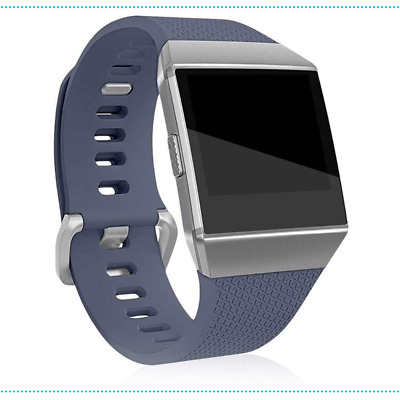 AU21.50 • Buy Fitbit Ionic Replacement Band Watch Bracelet Silicone Adjustable S Grey