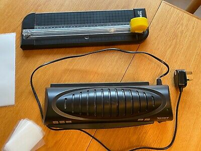 TeXet A4 Laminator Lma4 V With Paper Trimmer, In Great Condition • 7.50£