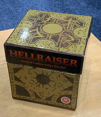 Hellraiser Puzzle Box (DVD, 2004, 4-Disc Set, Box Set) • 10£