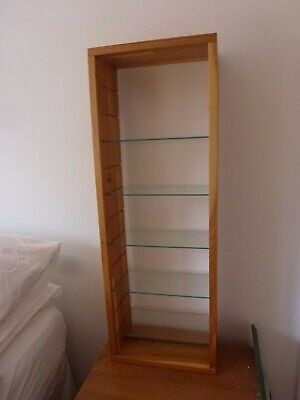 Ikea Wall Mounted Display Unit With Glass Shelves • 2£