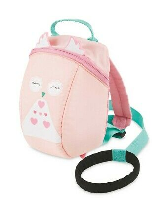 Brand New Pink Owl Toddler Reins Backpack • 9.99£