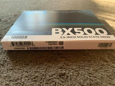 Crucial BX500 1 TB, Internal, 2.5  Solid State Drive (CT1000BX500SSD1) • 82.99£