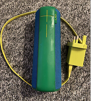 AU52.37 • Buy UE Boom 2 - Bluetooth Portable Speaker - Green/Blue With Charger Ultimate Ears