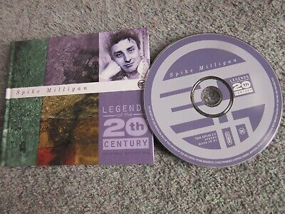 SPIKE MILLIGAN -  Legends Of The 20th Century Cd Album + Booklet • 0.99£