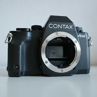 $ CDN814.11 • Buy [NEAR MINT] Contax Aria Black | FILM TESTED | Body | G1 G2 T2 T3