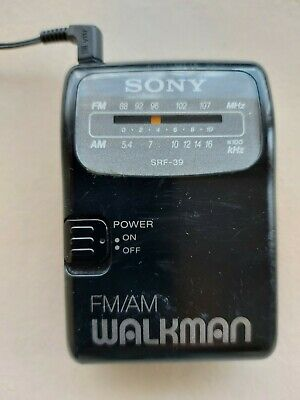 Sony Walkman FM/AM Personal Radio SRF-39 • 5.49£