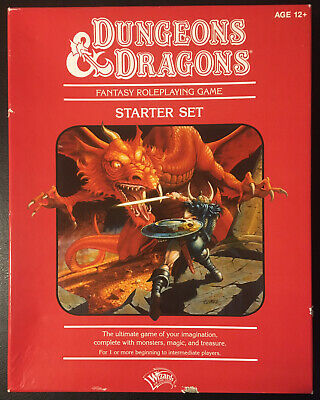 £79.99 • Buy Dungeons & Dragons Essentials STARTER SET 4th Edition RED Box Set EX/NM