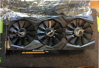 $ CDN826.46 • Buy Asus Nvidia Geforce GTX 1080ti ROG Strix OC Graphics Card