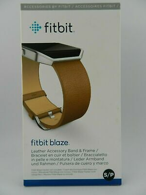 AU44.80 • Buy Fitbit Blaze Leather Smart Watch Band Replacement - New In Box