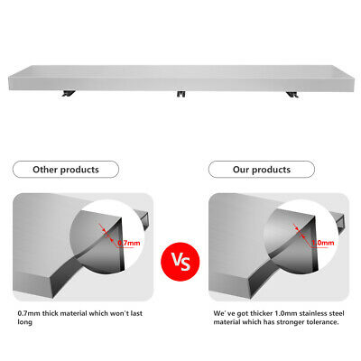 Commercial 6ft Food Truck Serving Table Concession Shelf Window Stands Tabletop • 127.21£