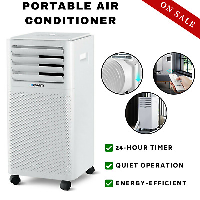 AU254.74 • Buy Portable Air Conditioner Dehumidifier Cooling Mobile Fan Cooler 2000W White