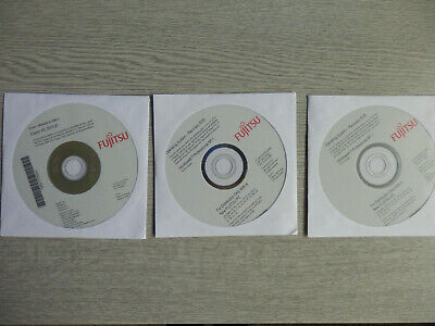 Genuine Fujitsu Recovery Discs - Windows 7 Prof SP1 32/64 Bit + Driver DVD • 14£