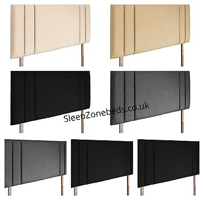 £35.99 • Buy Top Quality Luxury Side Bar Headboard In Chenille Fabric S D K SK Height 26  UK