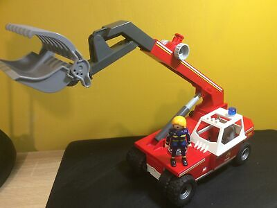 £15.50 • Buy Playmobil City Action Fire Crane 9465 Preowned