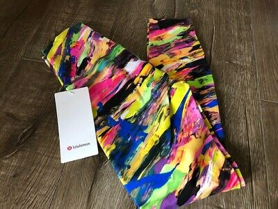$ CDN158 • Buy Lululemon Catalyst Multi Wunder Train Leggings Size 4 NWT