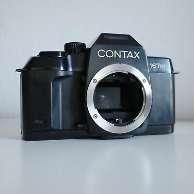 $ CDN318.51 • Buy [EXCELLENT] Contax 167MT Black | FILM TESTED | Body | FILM TESTED | G1 G2 T2 T3