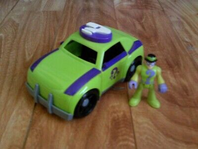 Fisher-Price Imaginext DC Super Friends The Riddler And Car Loose • 6.43£