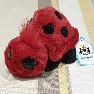 Jellycat Frizzles Ladybird Soft Toy Plush BNWT NEW • 39.99£