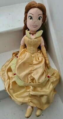 DISNEY Belle Beauty & The Beast Large Soft Plush Princess Figure Doll 20  • 7.99£