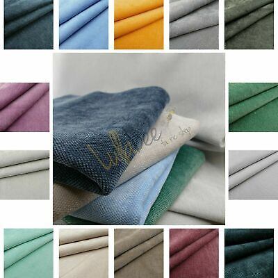 £9.99 • Buy Zurich Hopsack Weave Chenille Durable Soft Furnishing Upholstery Textured Fabric