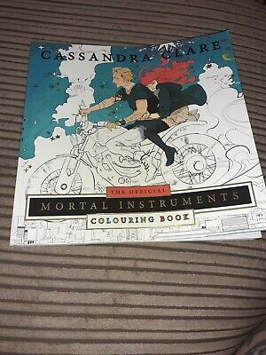 The Official Mortal Instruments Colouring Book By Cassandra Clare (Paperback, 2… • 4£