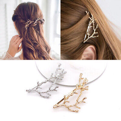 £2.99 • Buy 2x Vintage Metal Tree Branches Hair Clips Hairpins Barette Hair Accessories