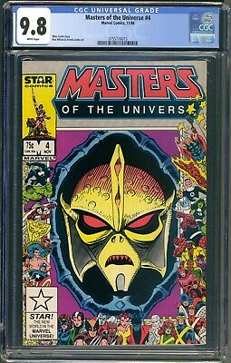$224.95 • Buy Marvel Masters Of The Universe #4 Cgc 9.8 Wp - Nm/mt - He-man Motu 1986