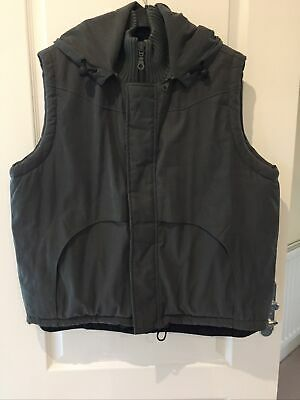 Mens Ringspun Clothing Khaki Padded Gilet Size Medium • 12.99£