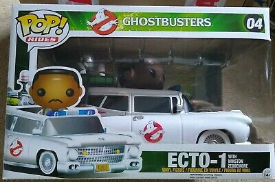 Funko Pop! Rides Ghostbusters Ecto-1 With Winston Zeddemore New In Box #04 • 18£