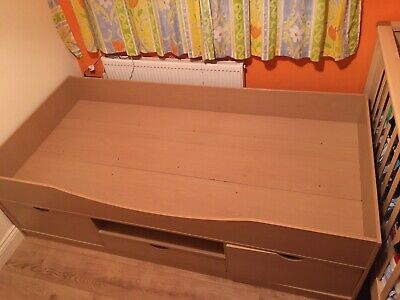 Ikea Single Bed With Storage • 45£
