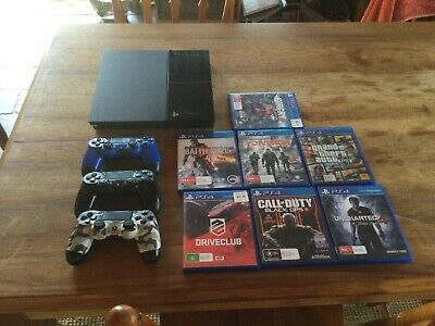 AU255.50 • Buy Playstation 4 (PS4) Console 2TB. 3 Controllers Plus 7 Games. Not 1TB But 2TB!