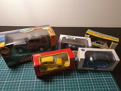 Licensed Model Cars Includes Land Rover And Fiat. • 1.30£