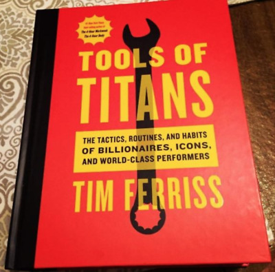 AU32.17 • Buy Tools Of Titans:The Tactics, Routines, And Habits Of Billionaires Hardcover Book