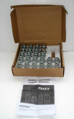 $18.99 • Buy Orion Motor Tech 24-Piece M12x1.5 Lug Nuts Chrome Plated 1.4 Inches OMT-NUT-0002
