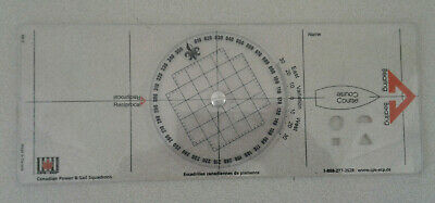 Plastic Chart Plotter  From Canadian Power And Sail Squadrons • 14.29£